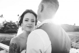 Sandstone Point Wedding