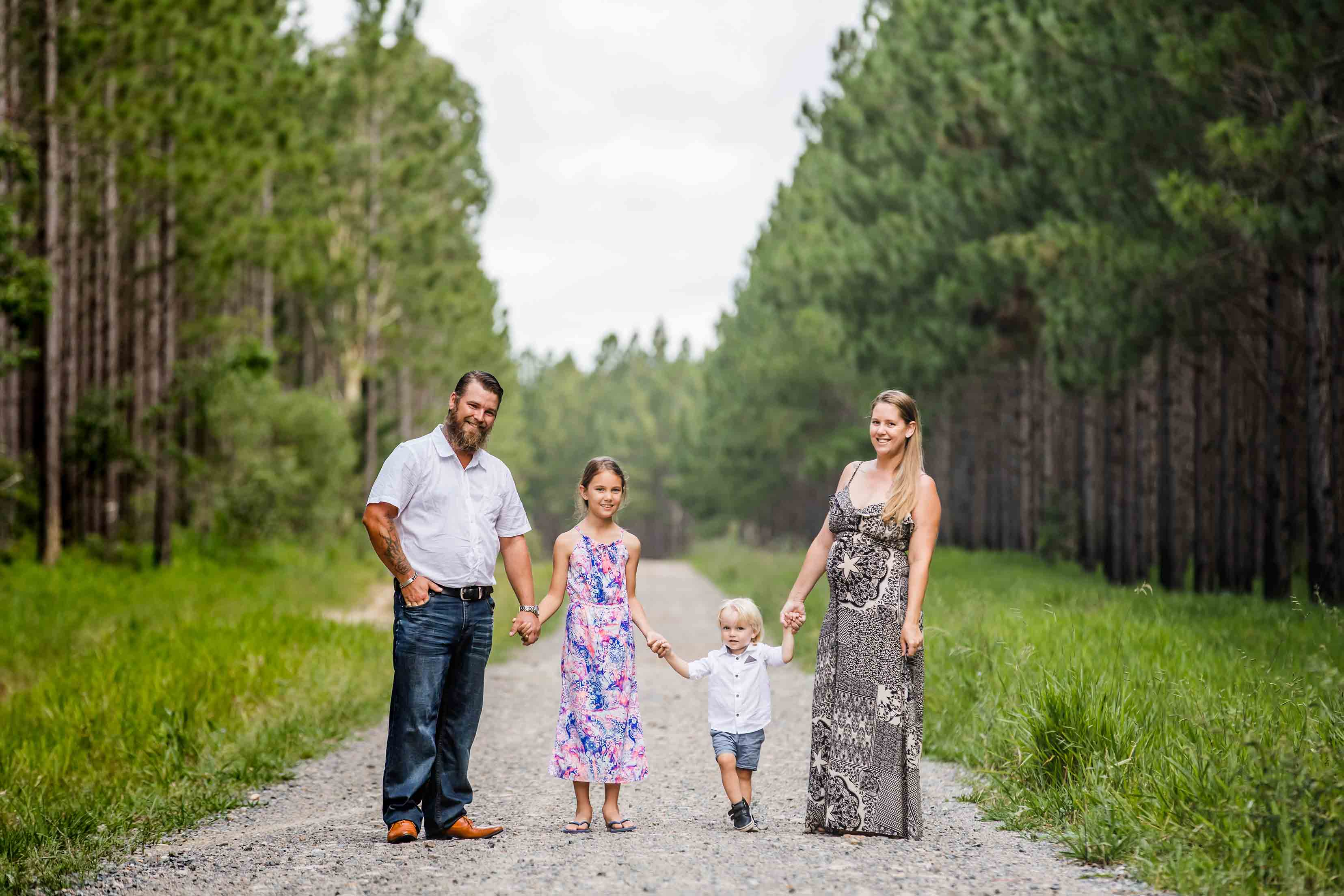 Pine forest Family Photos